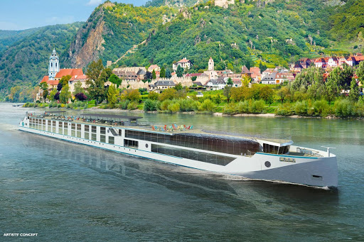 Crystal Cruises will introduce two new luxury river yachts, Crystal Bach and Crystal Mahler, in central Europe during summer 2017 (digital rendering).