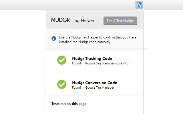 Nudgr Helper