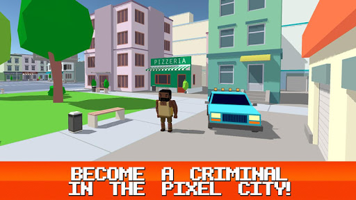 Pixel Crime City 3D