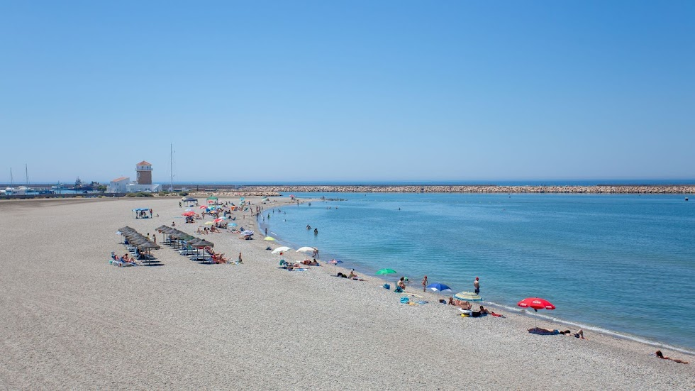 El Ejido, playa de Almerimar.