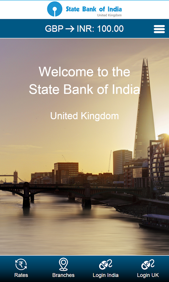 State Bank of India UK- screenshot
