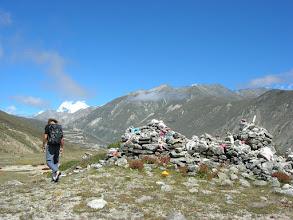 Photo: Hiking in Nyalam