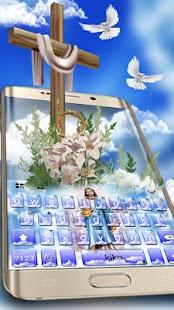 Holy Jesus Keyboard Theme - náhled