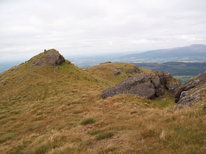 Photo: Summit of Knocksheegowna Mountain (Comeragh Mtns)