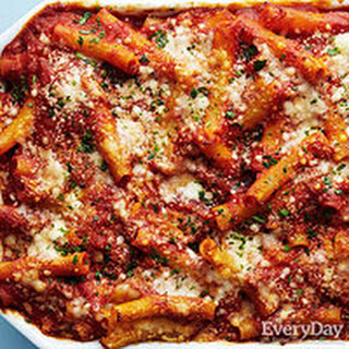 Three-Cheese Baked Ziti
