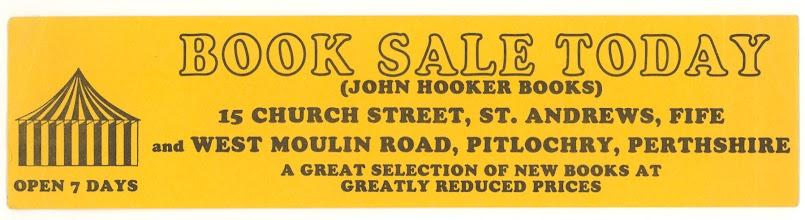 Photo: John Hooker Books