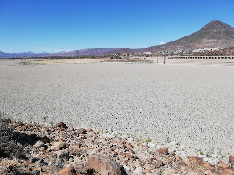 DRIED UP: Nqweba Dam in Graaff-Reinet