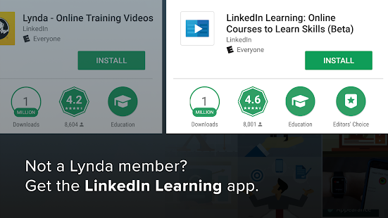 Lynda - Online Training Videos Screenshot