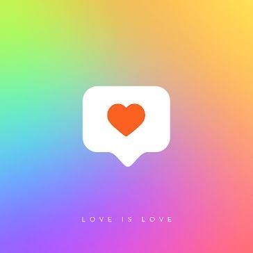 Pride Heart - Instagram Post template