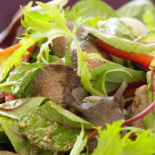 Warm Lamb Salad.