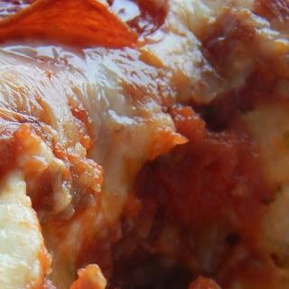 Garlic Knot Pizza Casserole