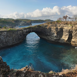 Beauty of Broken Beach by Kresnata Adijaya - Landscapes Waterscapes ( bali, nusa penida, broken beach )