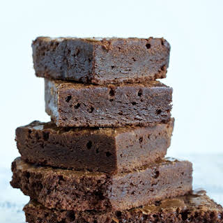 Luscious Scratch Brownies.