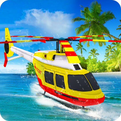 Water Surfer Helicopter Simulator
