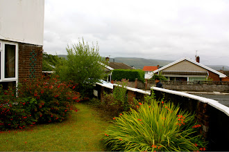 Photo: Feraz taking in Aberdare.