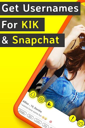 Finder - Find Friends For Snapchat & Kik Usernames by Social Friends