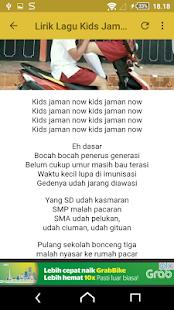 Lagu Kids Generasi Micin Now Offline - náhled