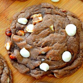 Nutella Hazelnut Chip Cookies.