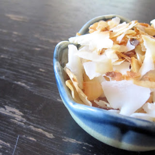 Caramelized Coconut Chips.