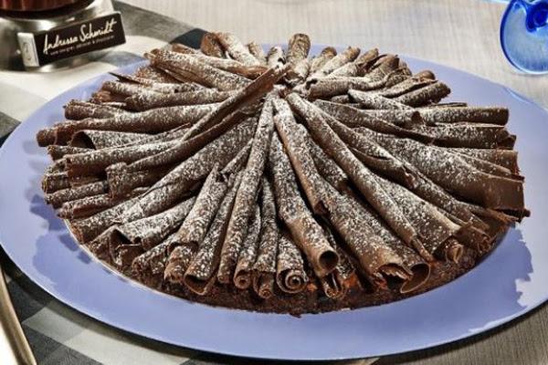 Bolo de Chocolate Francês ao Perfume de Café