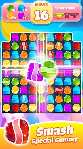 Jelly Jam Blast - Match 3 Games & Free Puzzle Game fond d'écran 2