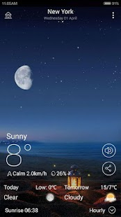 MoWeather screenshot for Android