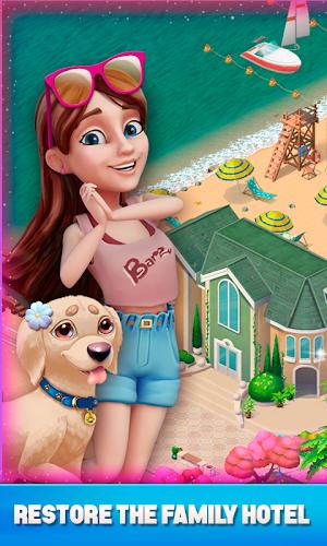 Resort Hotel: Bay Story Android App Screenshot