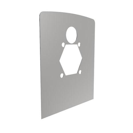 Resan WC-fixturplåt
