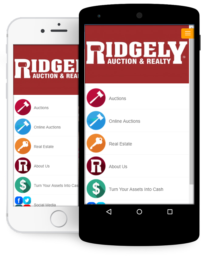 Ridgely Auction & Realty App- screenshot