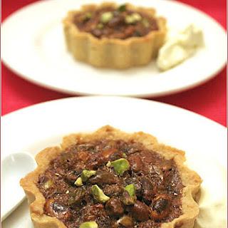 Mini pistachio tarts for a WTSIM picnic