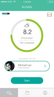 RUNNii - Find running buddy - náhled