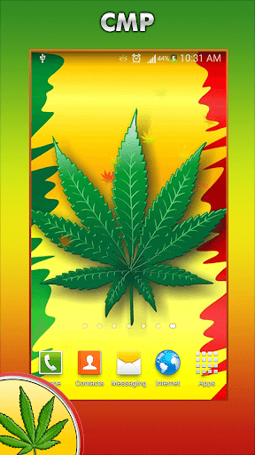 Weed Live Wallpaper HD