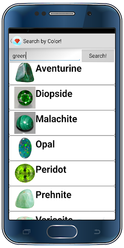 Gemstones list with description 8.9.7 screenshots 1