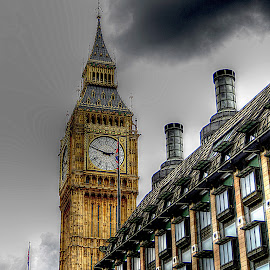 Big Ben~ by Karen McKenzie McAdoo - Buildings & Architecture Public & Historical