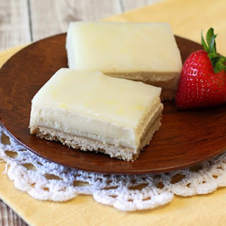 Dairy-Free Lemon Cheesecake Bars (Best for Potlucks and Picnics!)