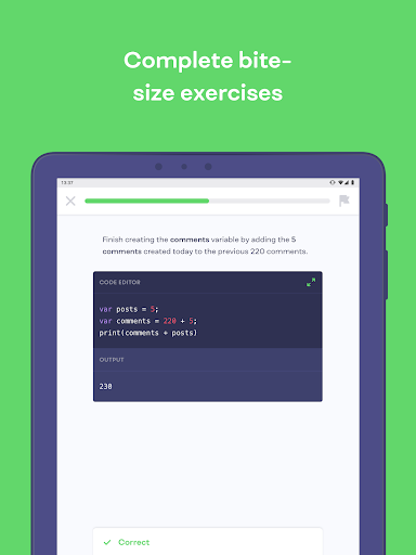 Mimo: Learn to Code HTML, CSS, JavaScript & more screenshots 10