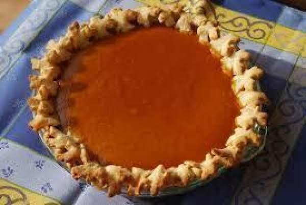 Molasses Pumpkin Pie Recipe