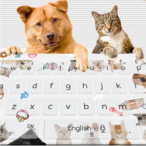 Cute Cat Dog Keyboard