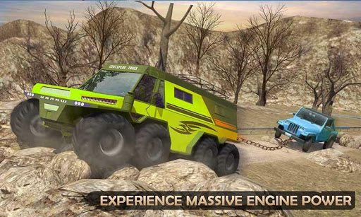 Extreme Offroad Mud Truck Simulator 6x6 Spin Tires 2.4 screenshots 2