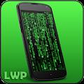 Digital Matrix Code Rain Live Wallpaper APK