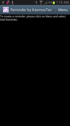 Reminder by KasmosTec