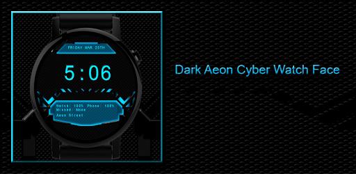 Приложения в Google Play – Dark Aeon Cyber Watch Face