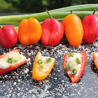 4-Ingredient Stuffed Mini Peppers – Vegan Friendly, Gluten Free.
