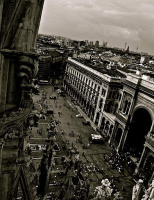Black and White Milan di BeatriceBizzarri