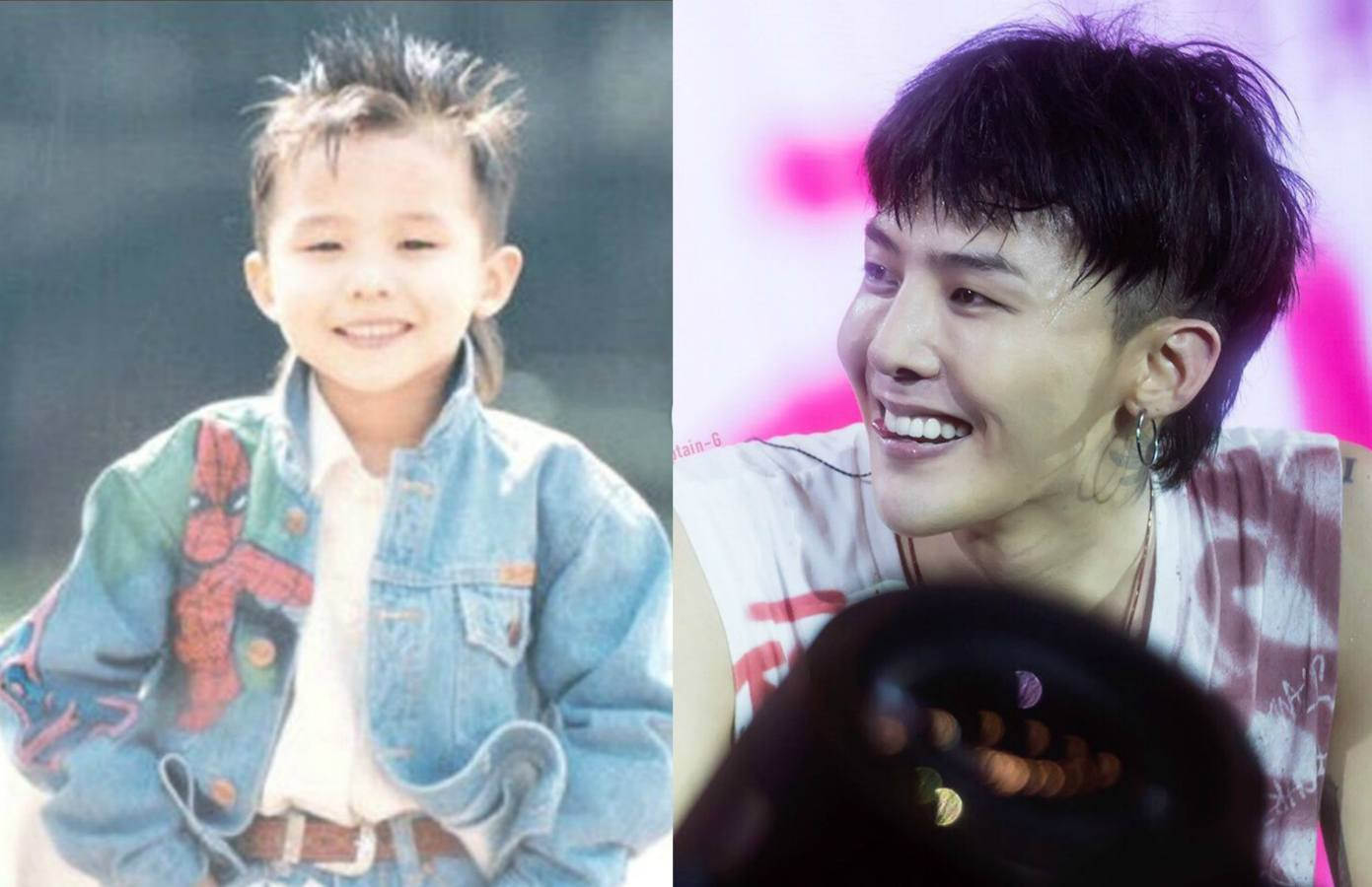The Evolution Of G Dragon S Mullet From Kindergarten To