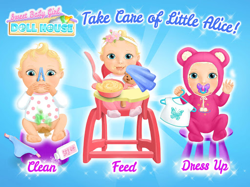 Sweet Baby Girl Doll House - Play, Care & Bed Time 1.0.76 screenshots 10