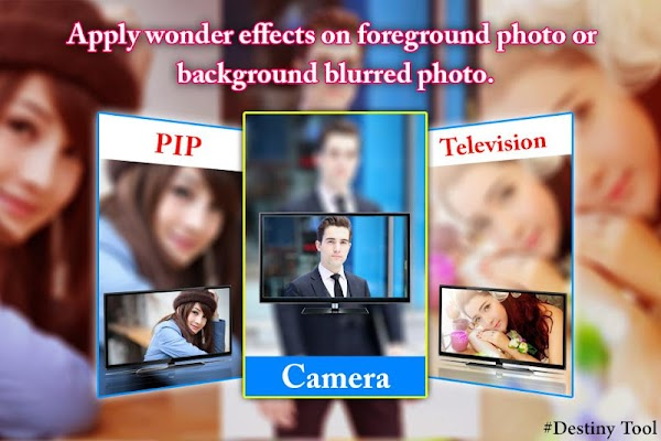 PIP Camera Television Effect - screenshot