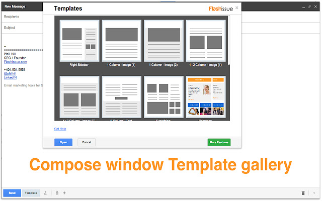 Email templates for Gmail
