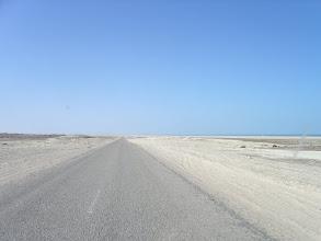 Photo: zmieniające się kolory pustyni w drodze do Mauretanii