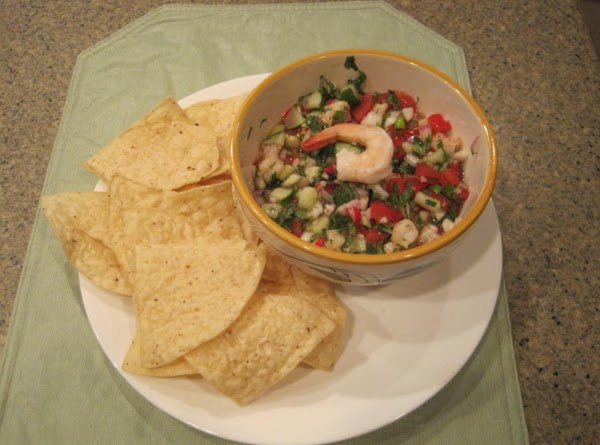 Ceviche De Camaron (shrimp) Recipe